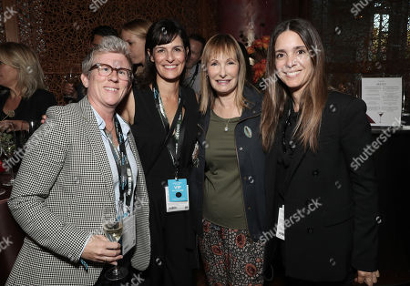 Amazon Studios Head of Unscripted Heather Schuster, Amazon Studios Head of Event Series Sharon Yguado, Gale Anne Hurd and Amazon Studios Head of Creative Unscripted Tracey Lentz