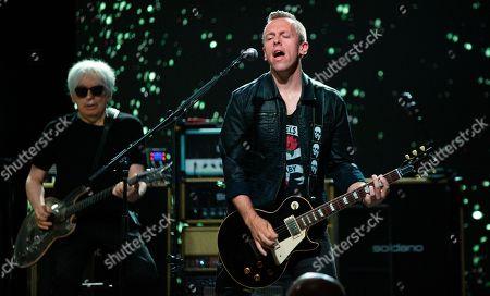 Chris Stein and Tommy Kessler of Blondie