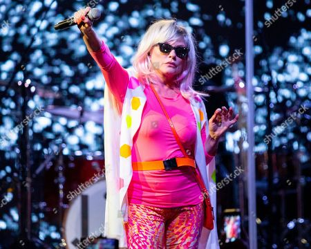 Blondie in concert, New York