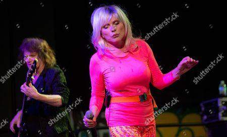 Editorial picture of Blondie in concert, House Of Vans, Brooklyn, New York - 20 Jul 2018