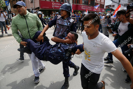 Anti-Government protest, Kathmandu