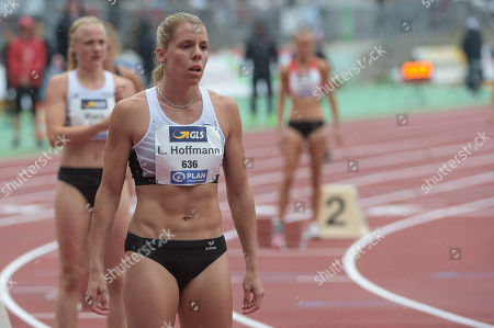 400m women HF,Lara Hoffmann LT DSHS Koeln ,German Meisterschaften Athletics 2018,Nuernberg, 21.07 - 22.07.2018