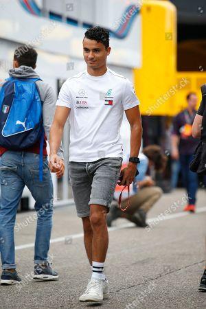Motorsports: FIA Formula One World Championship 2018, Grand Prix of Germany,  Pascal Wehrlein (GER)