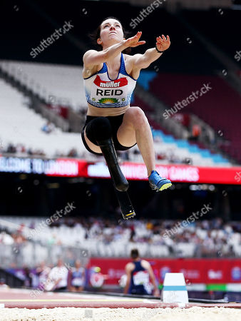 Stock Photo of Stef Reid of Great Britain during the Women's T44/47/64 Long Jump.