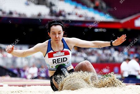 Stock Image of Stef Reid of Great Britain during the Women's T44/47/64 Long Jump.
