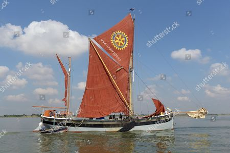 Thames Barge Race, Southend on Sea