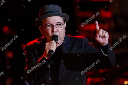 Panaman singer, Ruben Blades, during his performance