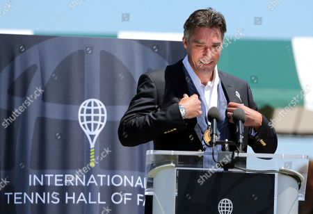 Editorial picture of Hall of Fame Tennis, Newport, USA - 21 Jul 2018