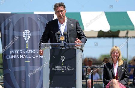 Editorial image of Hall of Fame Tennis, Newport, USA - 21 Jul 2018