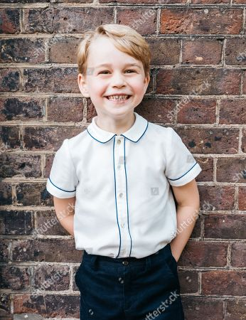 Portrait of Prince George to Mark his Fifth Birthday, London