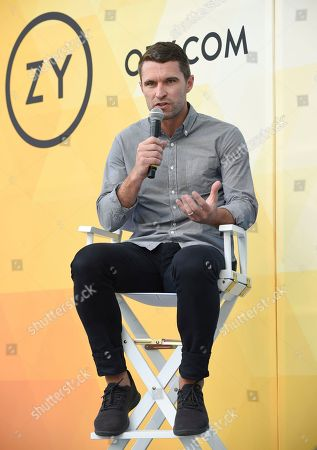 Allbirds co-founder Tim Brown speaks at OZY Fest in Central Park, in New York