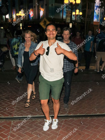 Carlos Valdes outside Hard Rock Hotel