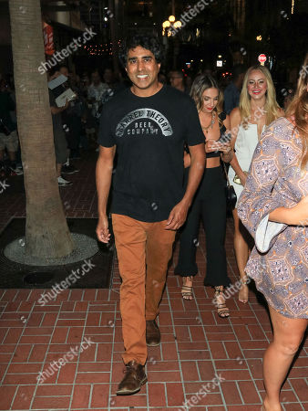 Stock Photo of Jay Chandrasekhar outside Hard Rock Hotel