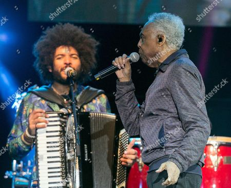Editorial picture of Gilberto Gil at Pirineos Sur Festival, Huesca, Spain - 21 Jul 2018