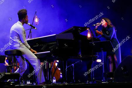 Benjamin Clementine and Ana Moura