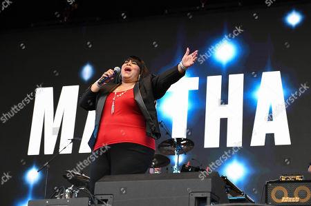 Martha Wash performing live at 80s extravaganza Rewind Festival, Scone Palace, near Perth, Scotland