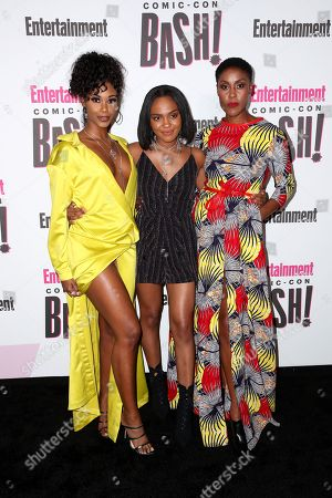 Nafessa Williams, China Anne McClain and Christine Adams
