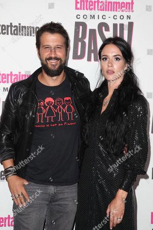 Stefan Kapicic and Ivana Horvat