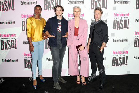 Ann Ogbomo, Cameron Cuffe, Wallis Day and Shaun Sipos