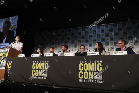 Stock Photo of Dominic Patten, Alexa Davalos, Rufus Sewell, Jason O'Mara, Stephen Root, Isa Dick Hackett, Dan Percival