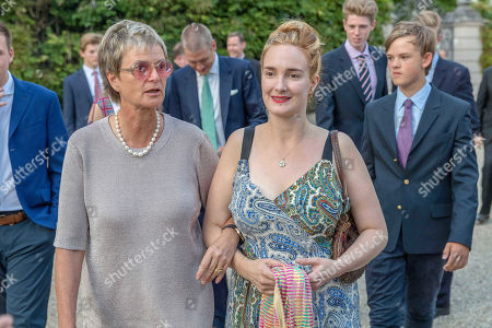 Stock Image of Gloria von Thurn und Taxis, Princess Maria Theresia of Thurn Taxis