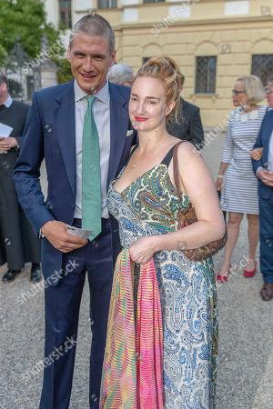 Editorial picture of Jamie Cullum in concert, Regensburg Castle Festival, St Emmeram Castle, Germany - 20 Jul 2018