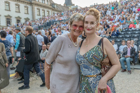 Editorial image of Jamie Cullum in concert, Regensburg Castle Festival, St Emmeram Castle, Germany - 20 Jul 2018