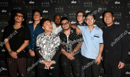 Editorial picture of Timothy DeLaGhetto bachelor party, Las Vegas, USA - 21 Jul 2018