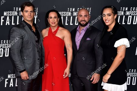 Editorial image of 'Mission Impossible: Fallout' film premiere, Arrivals, Washington, D.C., USA - 22 Jul 2018