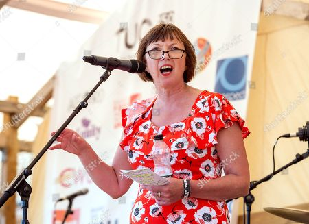Frances O'Grady, General Secretary of the TUC, speaks at the Tolpuddle Martyrs Festival.