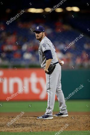 Editorial image of Padres Phillies Baseball, Philadelphia, USA - 22 Jul 2018
