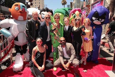 Editorial photo of Los Angeles film premiere of Warner Bros. Animation's 'Teen Titans Go! To the Movies' at TCL Chinese Theatre, Los Angeles, USA - 22 Jul 2018