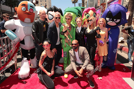 Editorial picture of Los Angeles film premiere of Warner Bros. Animation's 'Teen Titans Go! To the Movies' at TCL Chinese Theatre, Los Angeles, USA - 22 Jul 2018