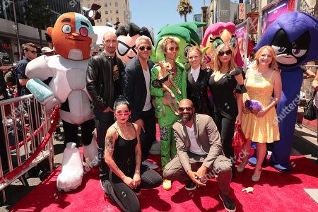 Scott Menville, Halsey, Sam Register, President, Warner Bros. Animation and Warner Digital Series, Greg Cipes, Khary Payton, Kristen Bell, Tara Strong, Hynden Walch