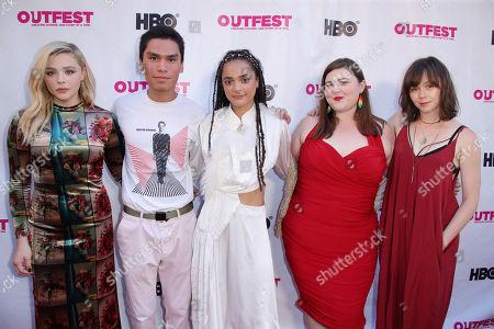 Chloe Grace Moretz, Forrest Goodluck, Sasha Lane, Melanie Ehrlick and Emily Skeggs