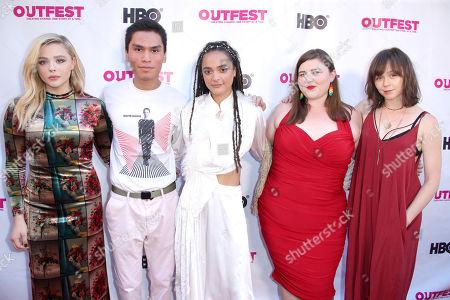 Chloe Grace Moretz, Forrest Goodluck, Sasha Lane, Melanie Ehrlich and Emily Skeggs