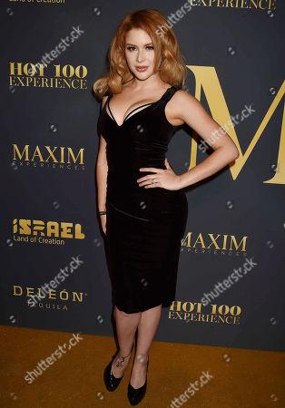 Editorial image of Maxim Hot 100 Experience, Los Angeles, USA - 21 Jul 2018