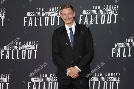 """Frederick Schmidt attends the U.S. premiere of """"Mission: Impossible - Fallout"""" at The Smithsonian National Air and Space Museum on in Washington"""