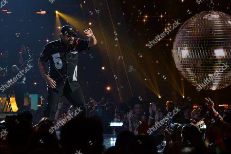Editorial image of Premios Juventud Awards, Show, Miami, USA - 22 Jul 2018