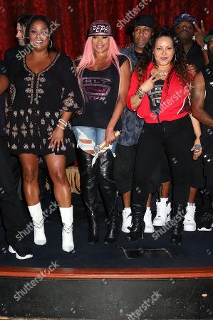 Stock Picture of Salt-N-Pepa - DJ Spinderella, Cheryl Wray and Sandra Denton