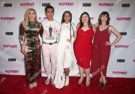 Chloë Grace Moretz, Forrest Goodluck, Sasha Lane, Melanie Ehrlich, Emily Skeggs