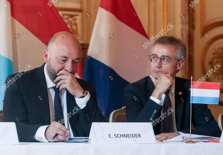 Etienne Schneider and Felix Braz
