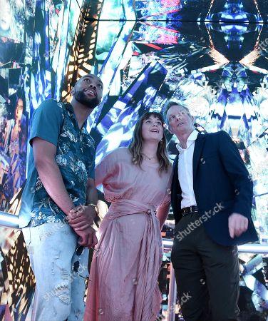 Jeremie Harris, Rachel Keller, Bill Irwin