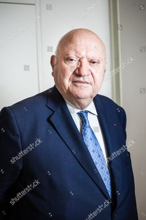 Editorial picture of Mayor of Issy-les-Moulineaux Andre Santini, France - 01 Jun 2018