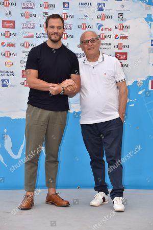 Sam Claflin, Claudio Gubitosi