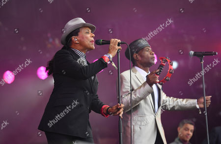 Stock Photo of The Selecter - Pauline Black