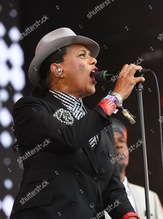Stock Image of The Selecter - Pauline Black