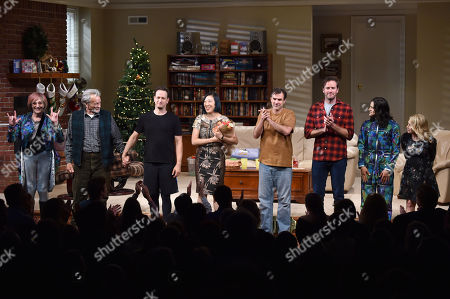 Editorial image of 'Straight White Men' Broadway play opening night, Curtain Call, New York, USA - 23 Jul 2018