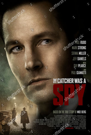 The Catcher Was a Spy (2018) Poster Art. Paul Rudd
