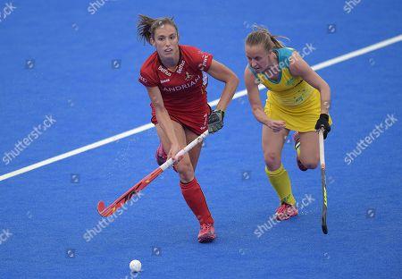 Judith Vandermeiren of Belgium and Emily Smith of Australia